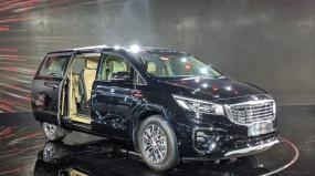 Auto Expo 2020: किआ मोटर्स ने लॉन्च की प्रीमियम MPV Carnival, खास हैं फीचर्स