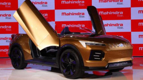 Auto Expo 2020: Mahindra Funster इलेक्ट्रिक कॉन्सेप्ट कार, 5 सेकंड में पकड़ेगी 100 की रफ्तार