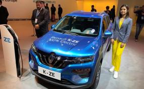Auto Expo 2020: Renault ने पेश की इलेक्ट्रिक कार K-ZE, जानें फीचर्स