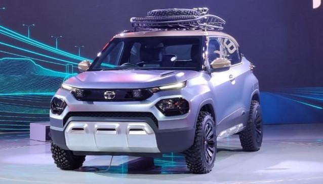Auto Expo 2020: Tata Motors की छोटी एसयूवी HBX ने जीता दिल, आकर्षक है लुक