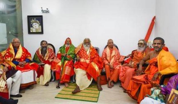 आयोध्या: राममंदिर ट्रस्ट की पहली ही बैठक में मतभेद, दिगंबर अखाड़ा के प्रमुख सुरेश दास ने जताई नाराजगी
