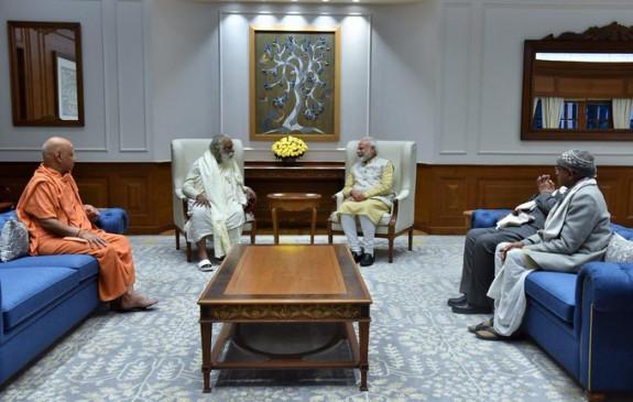 अयोध्या: श्रीराम जन्मभूमि ट्रस्ट ने दिया मंदिर निर्माण के भूमिपूजन का न्योता, पीएम ने दिया आश्वासन