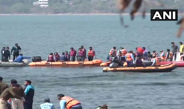भोपाल: बड़ी झील में पलटी नाव, चार IPS अधिकारियों समेत आठ को सुरक्षित बाहर निकाला