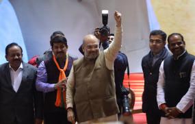 दिल्ली चुनाव प्रचार में भाजपा ने झोंकी ताकत, अमित शाह और नड्डा ने दोगुनी की सभाएं