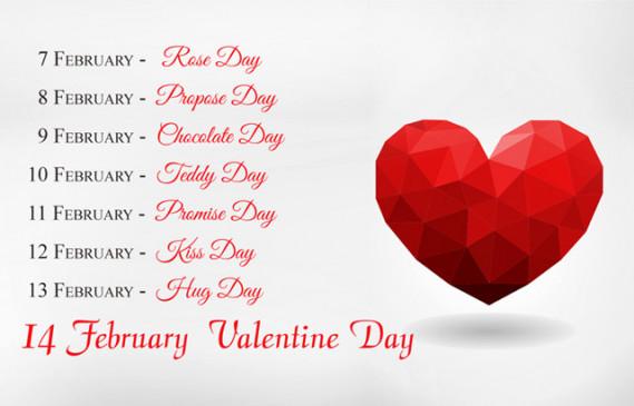 Valentine Week List 2020: शुरु होने वाला प्यार का सप्ताह, जान लें हर दिन के बारे में
