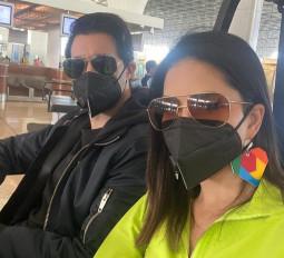 कोरोनावायरस : सनी लियोनी के बाद मास्क पहने नजर आए रणबीर कपूर