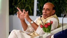 दिल्ली: रक्षा मंत्री राजनाथ सिंह बोले- मोदी सरकार के जिगर का टुकड़ा है 'मुसलमान'