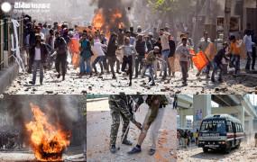 दिल्ली दंगा : पुलिस सोती रही, दंगाइयों ने हवलदार की जान ली, जिला जला डाला
