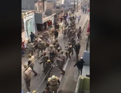 Fake News: लाठीचार्ज का पुराना वीडियो दिल्ली हिंसा से जोड़कर हुआ वायरल