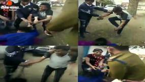 धार: महिला के साथरंगरलियां मना रहा था थानेदार, पत्नी ने विरोध किया तो कर दी पिटाई, देखें वीडियो