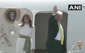 Trump India Visit live: आगरा पहुंचे डोनाल्ड ट्रंप-मेलानिया, ताजमहल का दीदार करने के लिए रवाना