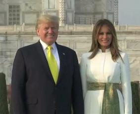 Trump India Visit live: ताजमहल का दीदार करने पहुंचे डोनाल्ड ट्रंप-मेलानिया