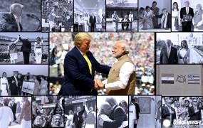 Trump India Visit: तस्वीरों में देखिए पहले दिन क्या-क्या किया ट्रंप ने? तेंदुलकर से लेकर विवेकानंद का किया जिक्र