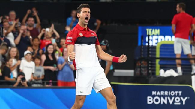 Dubai Tennis Championships: जोकोविच टूर्नामेंट के दूसरे राउंड में, जाजिरी को हराया