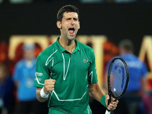 Dubai Tennis Championship: गेलमोनफिल्स को हराकर फाइनल में पहुंचे नोवाक जोकोविच