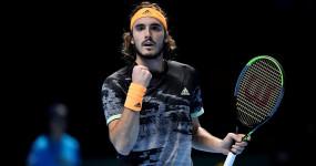 dubai tennis championships: सितसिपास टूर्नामेंट के दूसरे राउंड में, पाब्लो को हराया