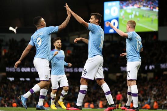 English premier league: मैनचेस्टर सिटी ने वेस्ट हैम को 2-0 से दी मात