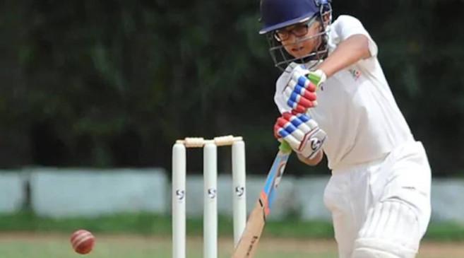 क्रिकेट : राहुल द्रविड़ के बेटे समित ने अंडर -14 टूर्नामेंट में लगाया दोहरा शतक