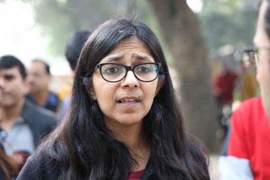 गार्गी कॉलेज मामला : भविष्य की कार्रवाई को लेकर मालीवाल और छात्राओं ने की चर्चा