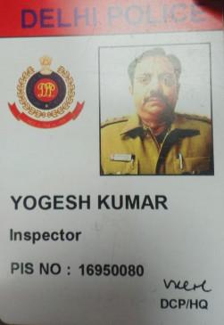 दिल्ली में हवलदार का शव रेल पटरी पर मिला, इंस्पेक्टर की अचानक मौत