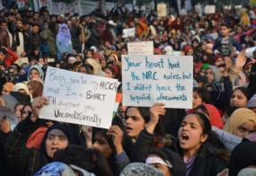 शाहीन बाग खाली कराने को हिंदू सेना ने कहा- कोर्ट और पुलिस कुछ नहीं कर पा रही, 1 मार्च को सब लोग शाहीन बाग जुटें