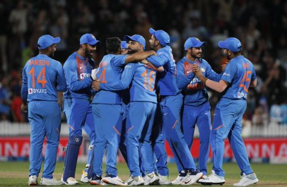 IND VS NZ: टी-20 सीरीज में टीम इंडिया पर दूसरी बार लगा स्लो ओवर रेट के कारण जूर्माना