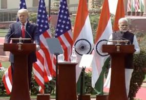 कट्टर इस्लामिक आतंकवाद के खिलाफ हैं भारत, अमेरिका : ट्रंप