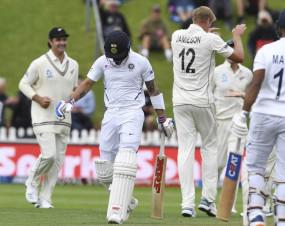INDvsNZ 1st test Day-3: भारत ने दूसरी पारी में 144 रन पर गंवाए 4 विकेट, न्यूजीलैंड से अब भी 39 रन पीछे