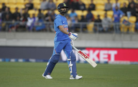 NZ VS IND 4th T-20: धीमी ओवर गति के कारण भारतीय टीम पर लगा जुर्माना