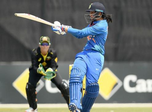 महिला क्रिकेट : भारत ने त्रिकोणीय टी-20 सीरीज के अपने चौथे मैच में ऑस्ट्रेलिया को 7 विकेट से हराया