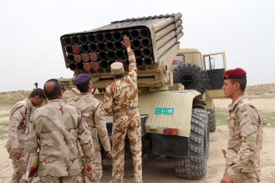 इराक : अमेरिकी सैन्य अड्डे पर 5 गोले दागे गए