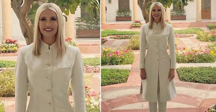 Fashion: जानें किस भारतीय डिजाइनर ने तैयार की इवांका ट्रंप की ड्रेस