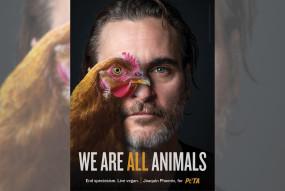 पेटा के विज्ञापन में जोक्विन की अपील, शाकाहारी बनें