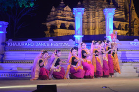 खजुराहो डांस फेस्टिवल - श्रीविद्या अंगरा, ईनाक्षी सिन्हा, पवित्र कृष्ण भट्ट ने दीं प्रस्तुतियां