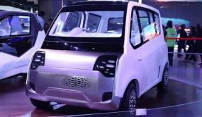 Auto Expo 2020: Mahindra पेश करेगी इलेक्ट्रिक क्वॉड्रिसाइकल Atom, टेस्टिंग के दौरान हुई स्पॉट