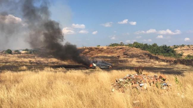 Accident: गोवा में नौसेना का मिग-29 विमान हुआ क्रेश, पायलट सुरक्षित