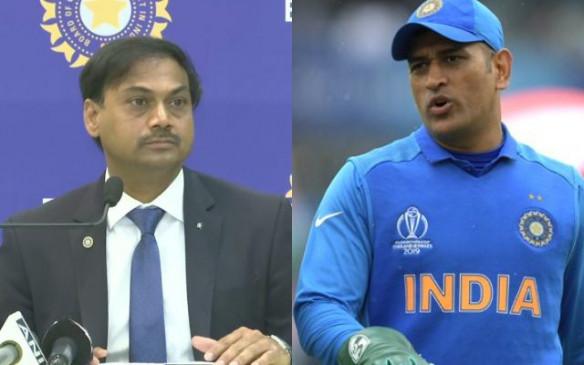 क्रिकेट: MSK प्रसाद ने कहा, हर किसी की तरह में भी धोनी का प्रशंसक हूं