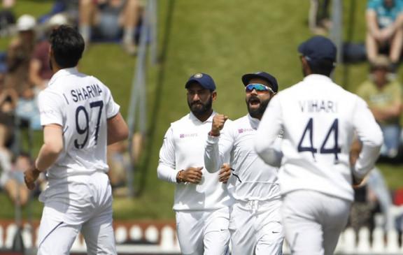 NZ VS IND 1st test: दूसरे दिन न्यूजीलैंड का स्कोर 216/5, भारत के खिलाफ 51 रन की बढ़त हासिल की