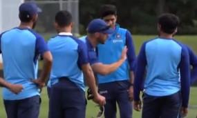 NZ vs IND 2nd test: टीम इंडिया की नई ट्रेनिंग ड्रिल 'टर्बो टच', BCCI ने ट्विटर पर शेयर किया वीडियो