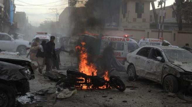 आतंकी हमला: क्वेटा में अदालत के पास विस्फोट, 7 की मौत, 19 घायल