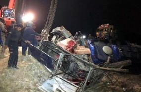 Accident: पाकिस्तान के सिंध में रेलवे क्रॉसिंग पर ट्रेन से टकराई बस, 30 की मौत