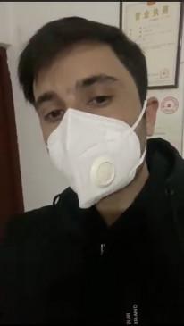 पाकिस्तानी छात्र ने वुहान से निकालने की सरकार से अपील की