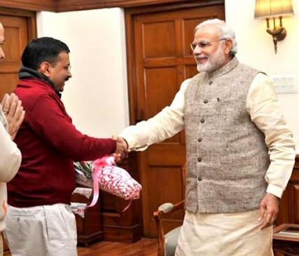 Delhi Election: AAP की प्रचंड जीत पर PM मोदी ने केजरीवाल को दी शुभकामनाएं