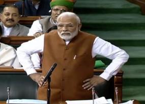 PM मोदी का राहुल पर पलटवार, बोले- डंडे खाने के लिए पीठ मजबूत करूंगा