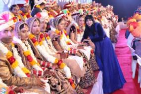 राजस्थान : 47 दिव्यांग जोड़े वैवाहिक बंधन में बंधे