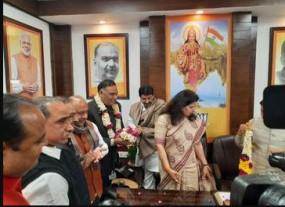 दिल्ली: रामवीर सिंह बिधूड़ी चुने गए विधानसभा नेता प्रतिपक्ष, बदरपुर से हैं विधायक
