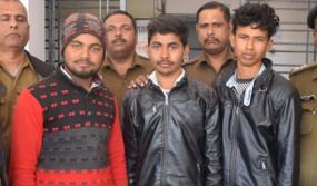 बदला लेने छात्र को बाइक सहित नहर में फेंक दिया - मुख्य आरोपी सहित 3 गिरफ्तार