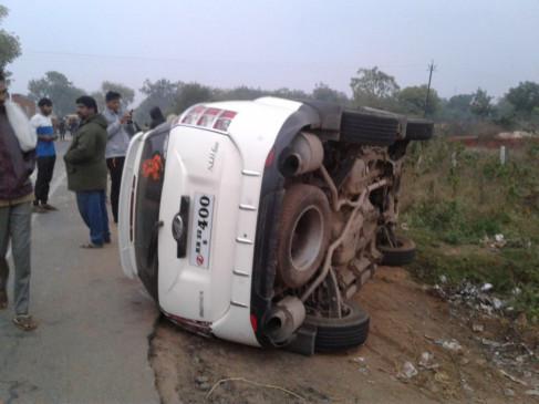 Accident: भंडारा के पास भीषण सड़क हादसा, दो की मौत, चार घायल