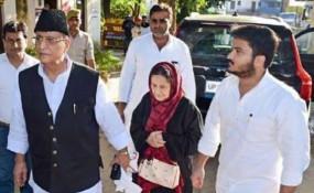 पत्नी और बेटे के साथ सपा सांसद आजम खान को रामपुर कोर्ट ने भेजा जेल