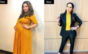 Sania Mirza ने 4 महीने में 26 किलो घटाया अपना वजन, शेयर की मोटिवेशनल पोस्ट